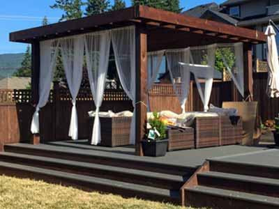 Fraser Valley Landscaping Gazebos & Pergolas Construction